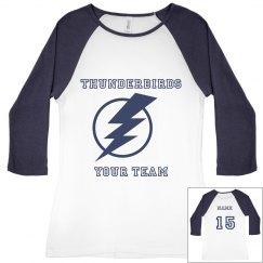 Thunderbirds women's budget jersey