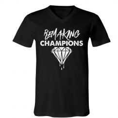 Men's V Neck Remaking Champs Tee