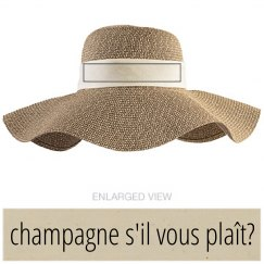 Champagne If You Please