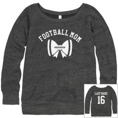 My Custom Football Mom Sweatshirt