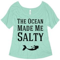 The Ocean Made Me Salty