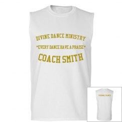 Coach training shirt