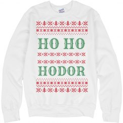 Christmas Holiday Ho Ho Hodor