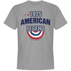 1975 american legend shirt