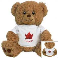 Canada Grizzly Teddy Bear