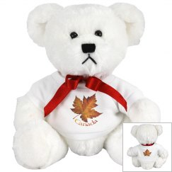 Canada Souvenir Grizzly Bear Stuffed Animals