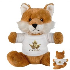Canada Souvenir Fox Stuffed Animal