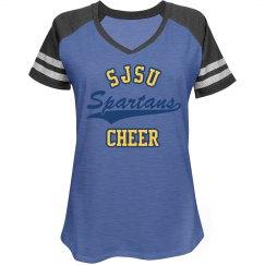 SJSU cheer