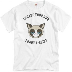 Attitude Cat Funny T-Shirt
