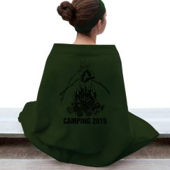 Camping 2015 Blanket