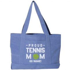 Proud Tennis Mom Custom Tote