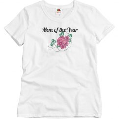 Mother's Day Shirt - white