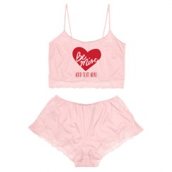 Be Mine Custom Valentine's Day Lingerie Set