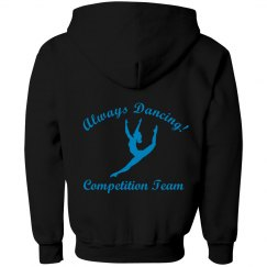 Youth Comp Team Zip Up
