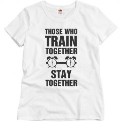 Those who train together stay together