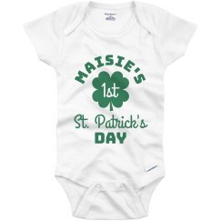 Custom Name's 1st St. Patrick's Day