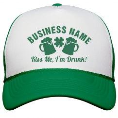 Irish Business St Pattys Day Hat