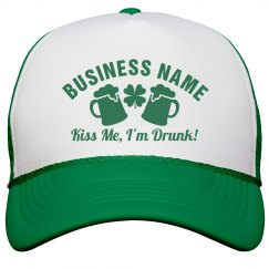 Irish Business St Pattys Day Hat