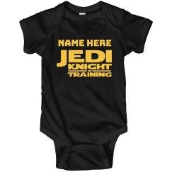 Jedi Knight In Training Custom Name