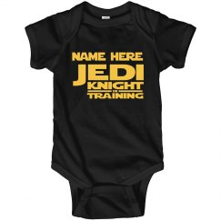 Jedi Knight In Training Custom Name