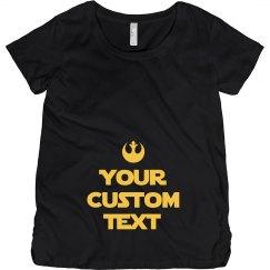 Future Jedi Rebel Scum Custom Mom