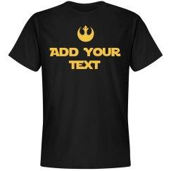 Custom Jedi Rebel Skywalker Fan