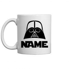 Darth Vader Fan Gift Custom Name