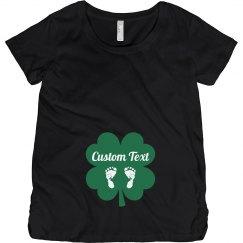 Custom St Patricks Baby Bump