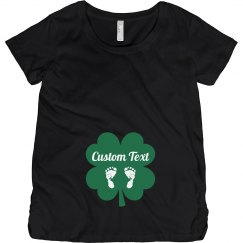 Custom St Patricks Baby Bump