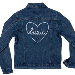 Matching Basic Bitches Denim Jacket