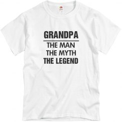 The Legend Of Grandpa Tee