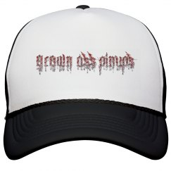 Grown Ass Pinups Bloody Trucker Hat
