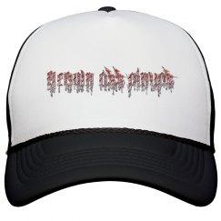 Grown Ass Pinups Bloody Trucker Hat
