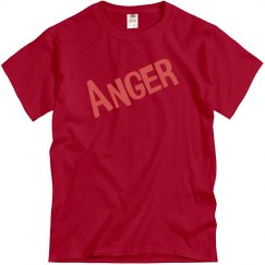 Adult Anger Costume