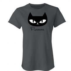 Purrfect Cat Graphic Tee