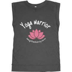 Yoga warrior muscle tee