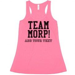 Team Morp Crop Top