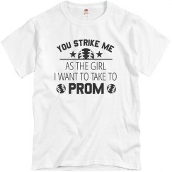 Baseball Prom Proposal Shirt