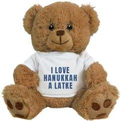 Cute Hanukkah Bear