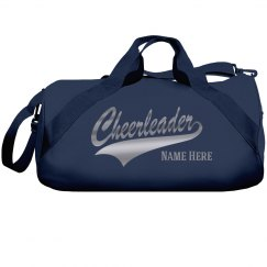 Silver Metallic Custom Cheer Bag