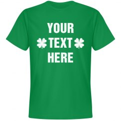 Customize A St Patty's Day Tee