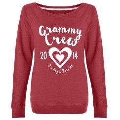 Christmas Gift For Grandma //customize /w name & year