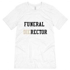 Funeral Director Men's Tee