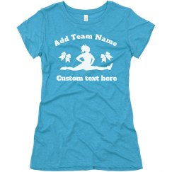 Customized Your Own Cheerleader Tee