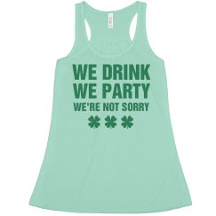 Drink And Party Shamrocks