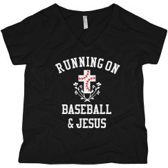 Funny Running On Jesus & Baseball