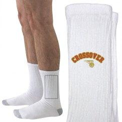 Crossover Basketball crew socks