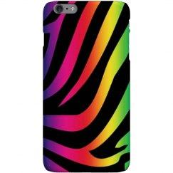 Zebra color phone case.