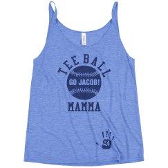 Tee Ball Mom Fan