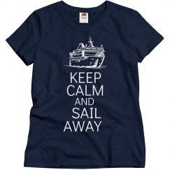 Keep calm and sail away